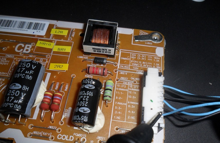 fixing led tv