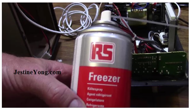 freezer coolant electronics