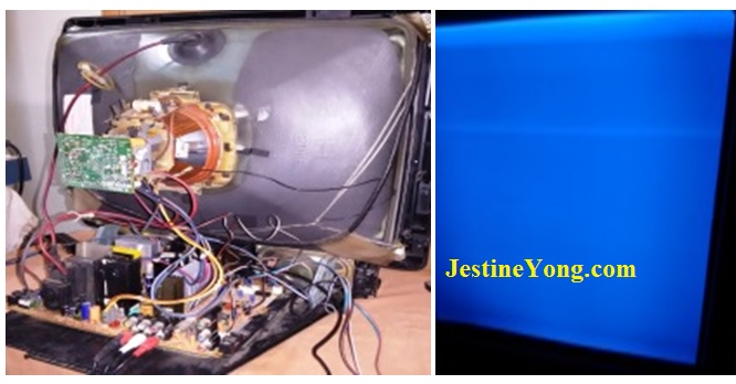 Servicing ONIDA Slim 300 CRT TV | Electronics Repair And Technology News