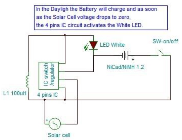 solar LED light repair