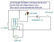 solar LED light repairing