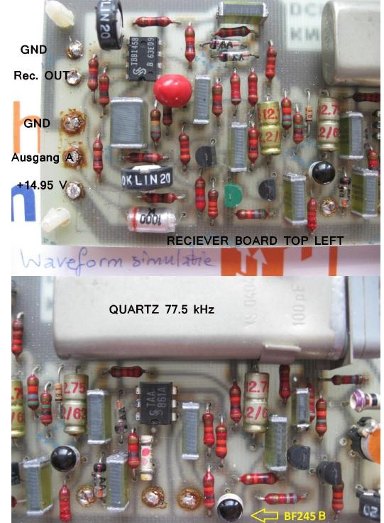 Exachron time pulse receiver