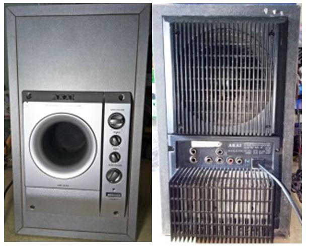 akai surround sound repair