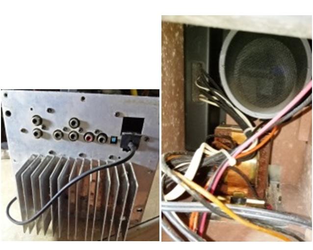 akai surround speaker repair