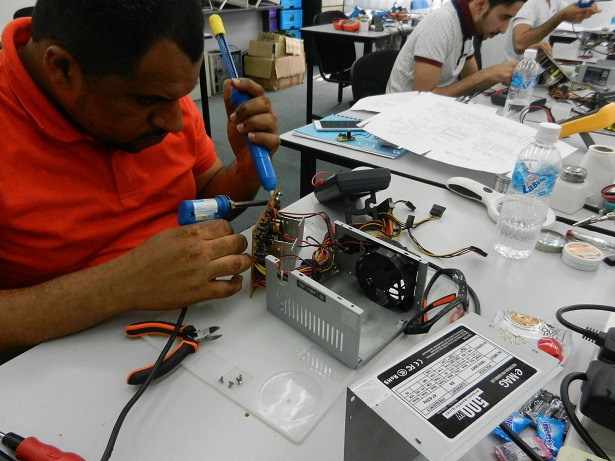 Completed The Basic, Advanced Soldering and SMPS Repair Course |
