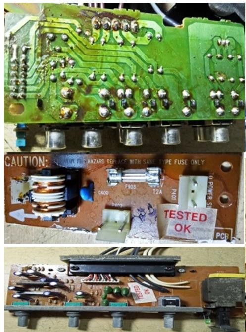 how to fix akai active surround speaker system