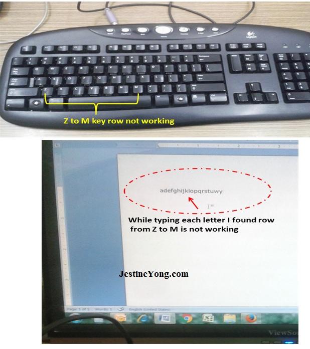 how to fix keyboard