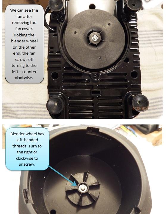 how to repair sensio bella blender