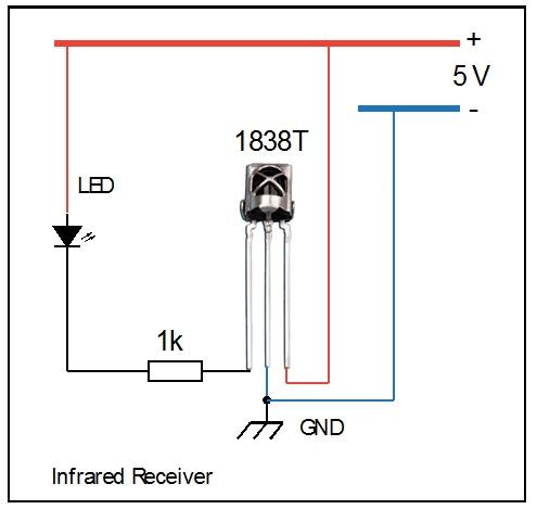 remote controller circuit