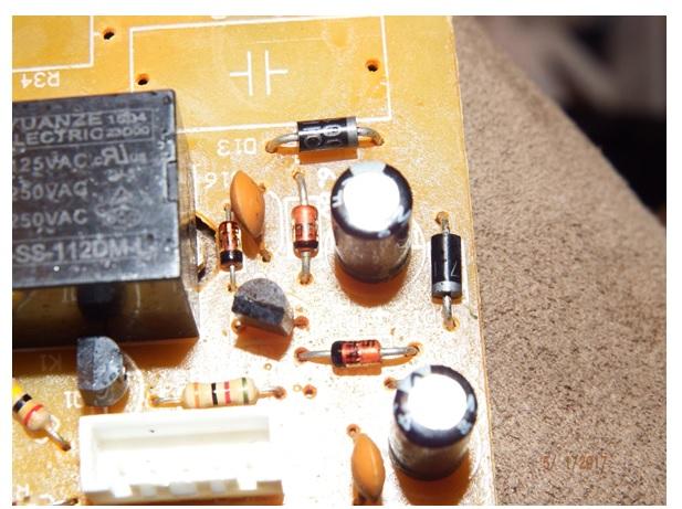 repairing blender machine