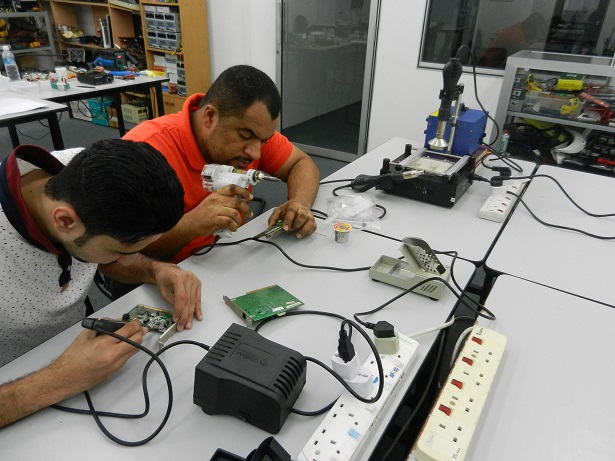 smd ic soldering course