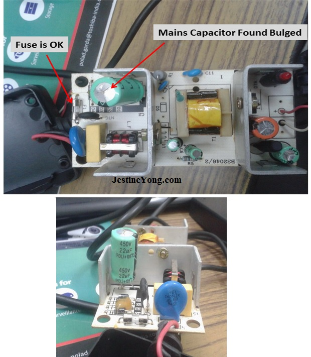 cctv power supply repair