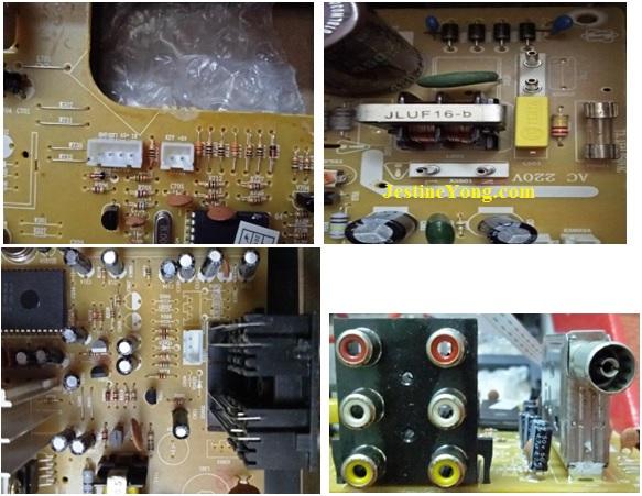 how to repair crt tv kit fix