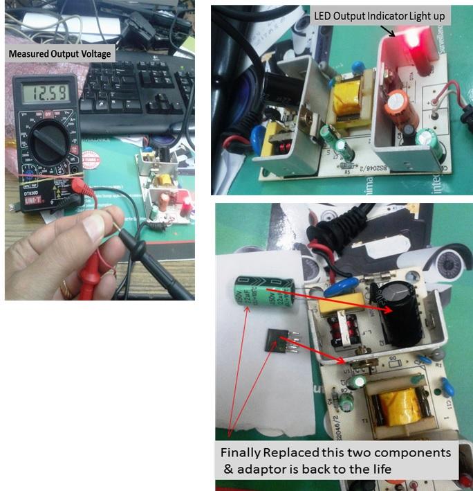 repairing cctv