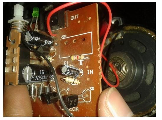 audio circuit board