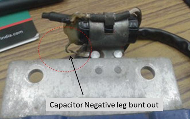 bike capacitor problem
