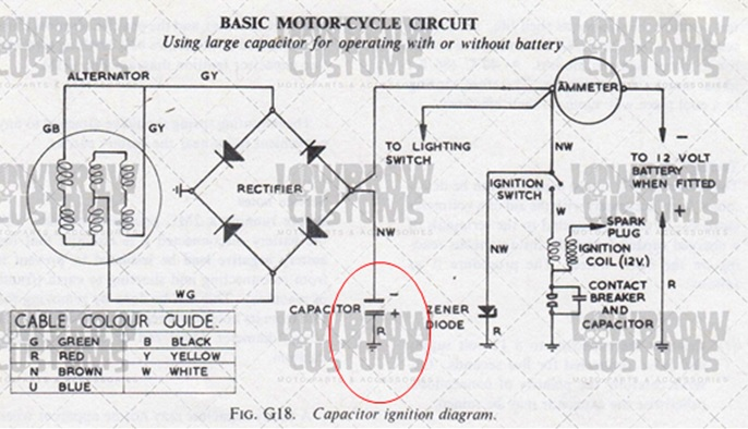 bike electronics diagram