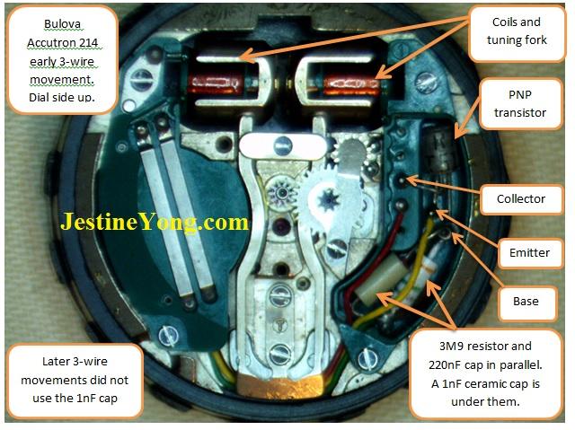 bulova accutron internal parts