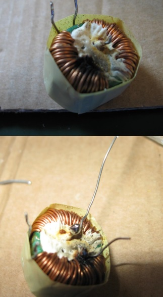 coil in power adapter