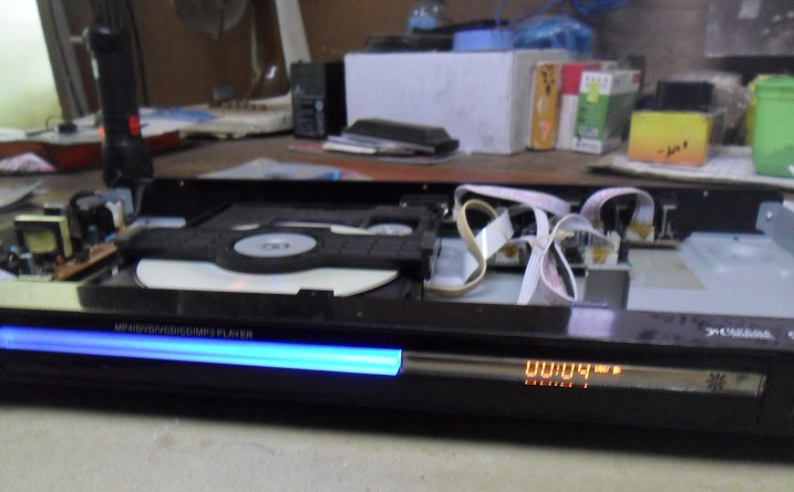 fix dvd player