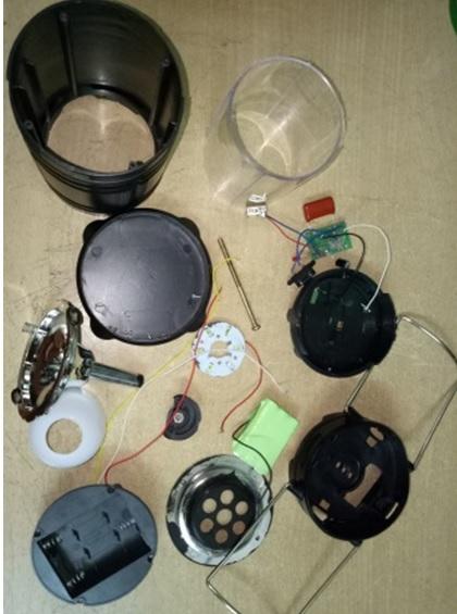 fix solar lantern