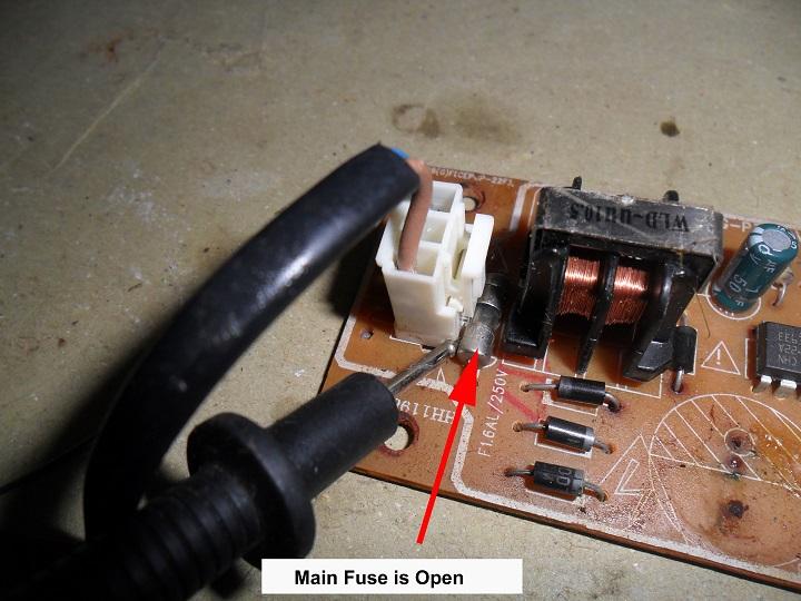 fuse open
