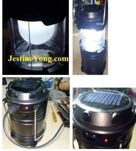how to fix solar lantern