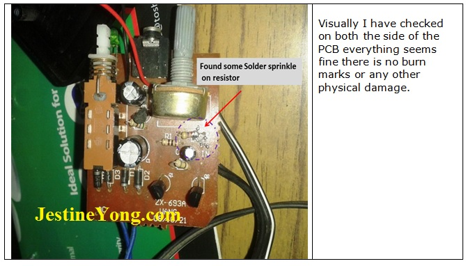 how to repair speaker no sound