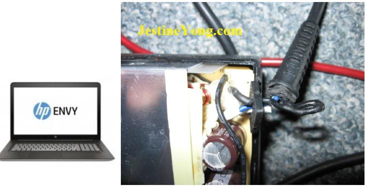 hp envy laptop adapter repair
