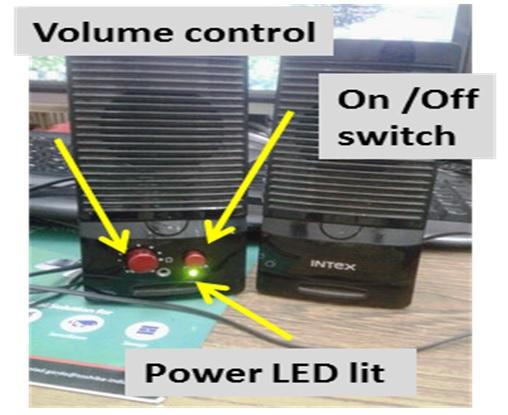 no sound in speaker repair