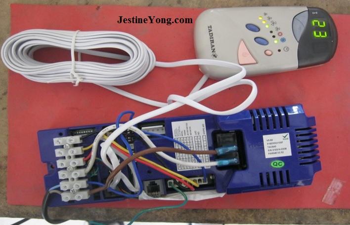 repairing tadiran aircond board