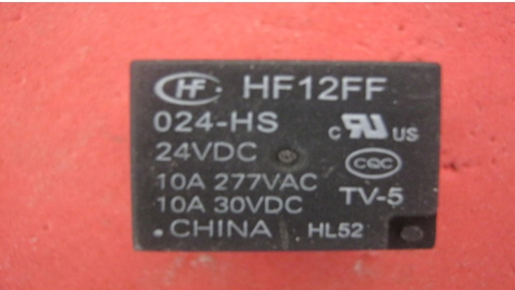 24 volt aircond relay