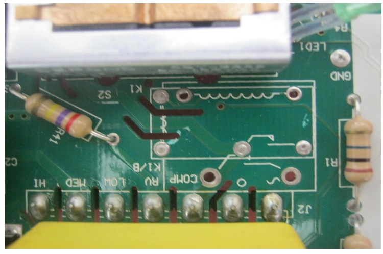 aircond thermostsat circuit board