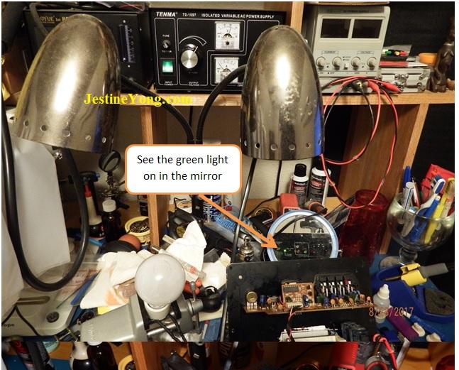 electronic repair bench