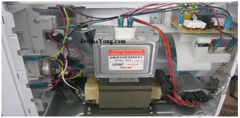 fixing microwave oven