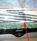 how to fix canca crt television