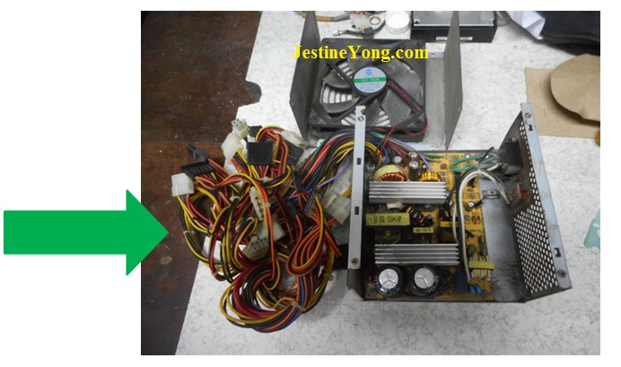 how to fix atx power supply