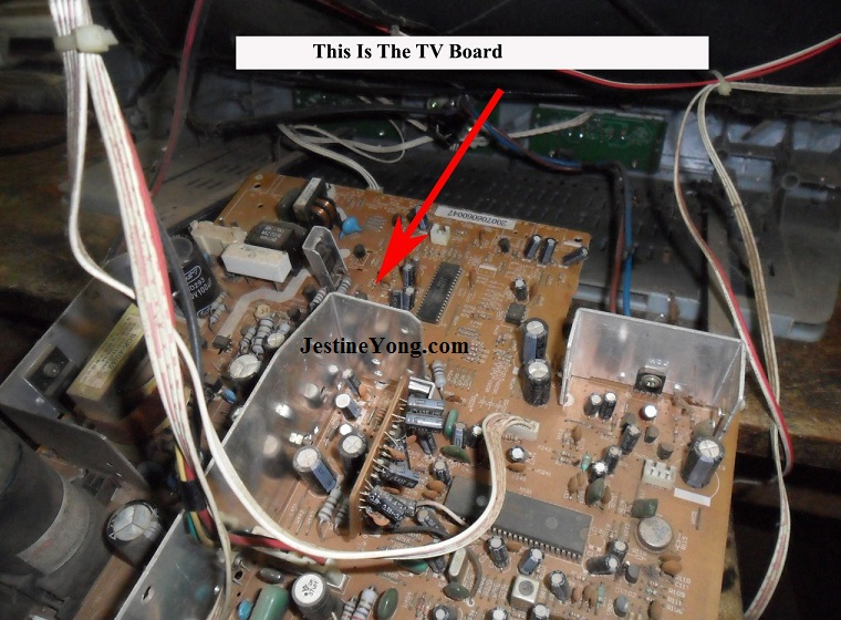 how to fix crt tv