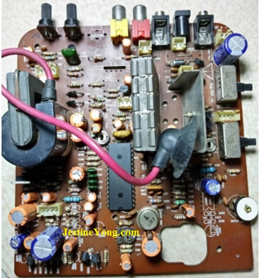 how to fix monochrome television