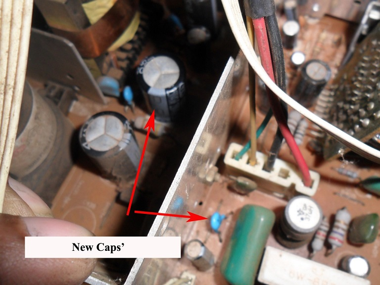 how to repair and fix crt tv