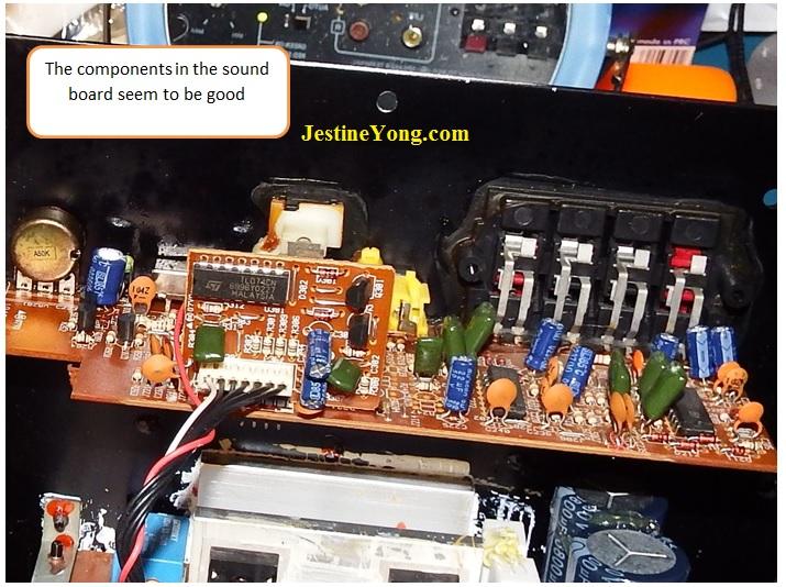 jbl sub135 subwoofer repair