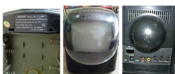 repair monochrome tv