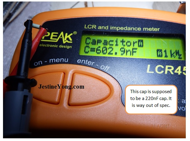 peak atlas lcr impedance meter