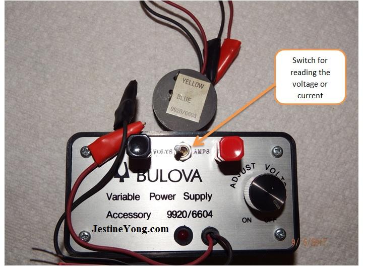 Bulova Accutron meter