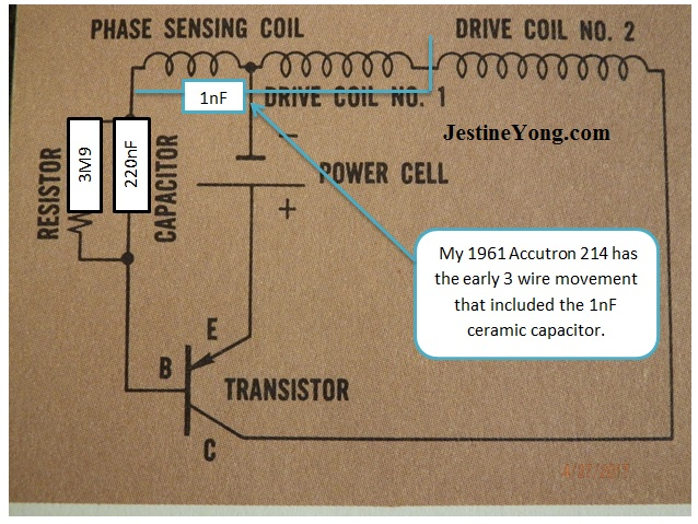 Bulova Accutron schematic