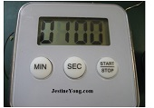 electronic timer machine fix