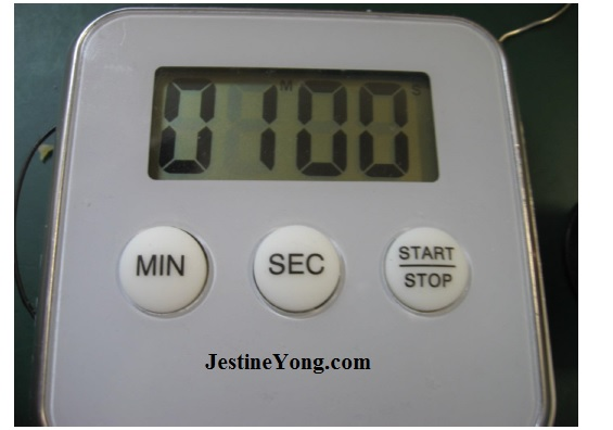 electronic timer machine repair