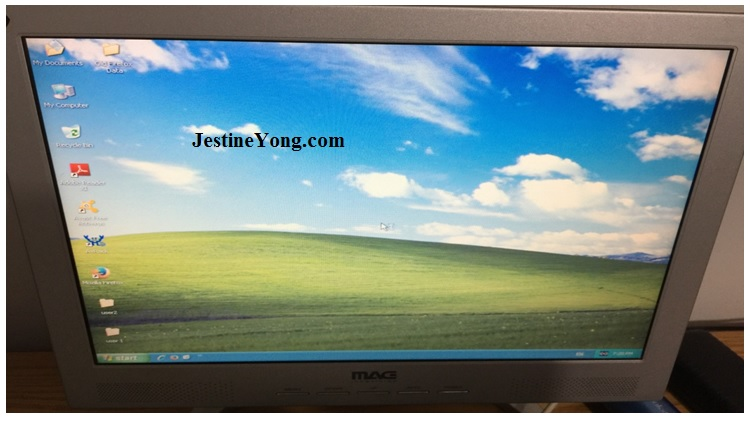 fixing lcd monitor dim display