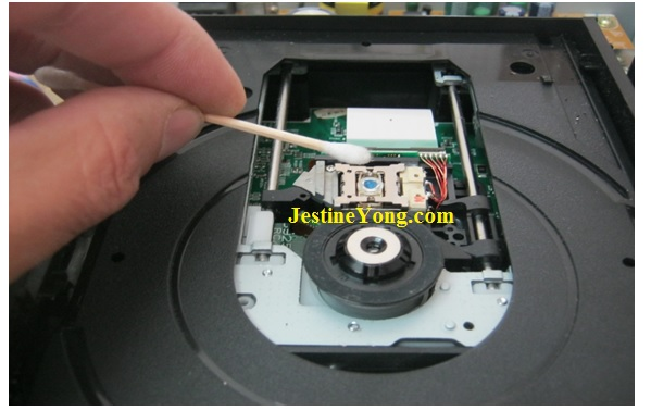 how to clean a dvd laser head