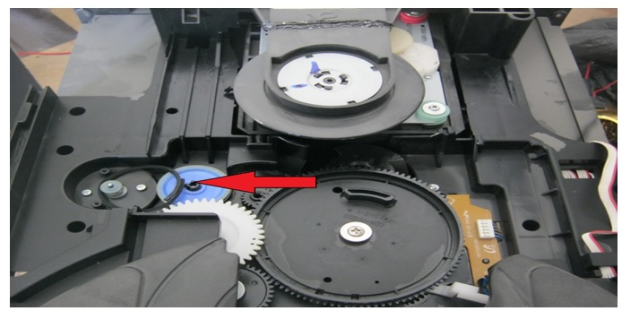 how to fix 3 cd changer